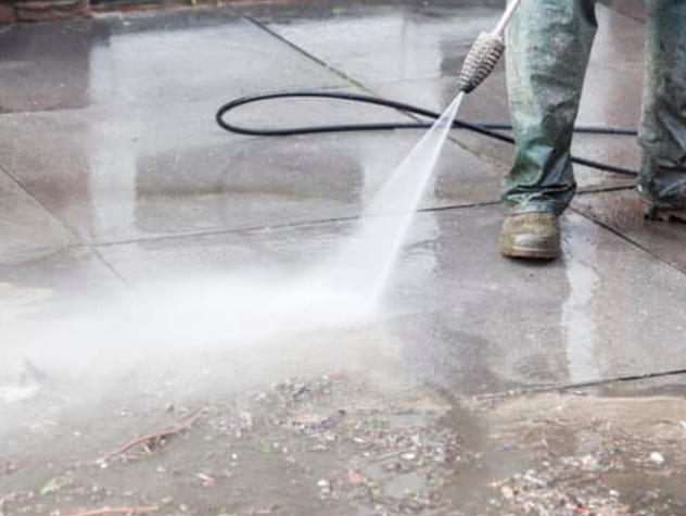 this is an image for gas station pressure washing in folsom,california