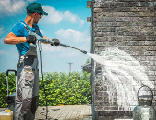 This is a picture of Rocklin pressure washing service.